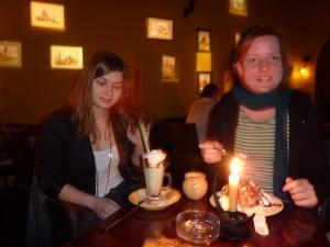 Agnieszka e Christiane