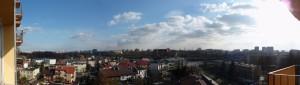 Panorama dalla mia finestra